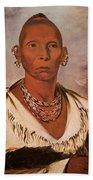 Black Hawk (1767-1838) Beach Towel