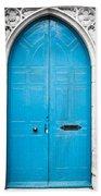 Blue Door Beach Towel