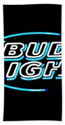 Bud Light Beach Towel