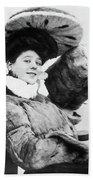 Camille Clifford (1885-1971) Beach Sheet
