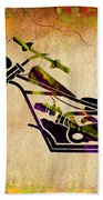 Chopper Art Beach Towel