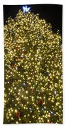 Christmas Tree Ornaments Faneuil Hall Tree Boston Beach Towel
