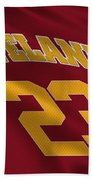 Cleveland Cavaliers Uniform Beach Towel