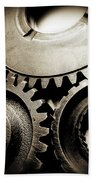 Cogs Beach Towel by Les Cunliffe