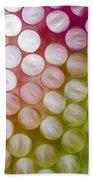 Colorful Straws Beach Towel