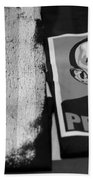 Commercialization Of The President Of The United States Of America In Black And White Beach Towel