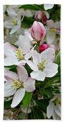 Crabapple Blossoms Beach Sheet