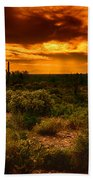 Desert Gold  Beach Towel