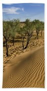 Desert Tamarix Trees Beach Towel