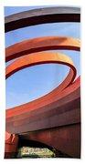 Design Museum Holon Beach Towel