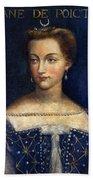 Diane De Poitiers (1499-1566) Beach Towel