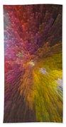 3 Dimensional Art Beach Towel