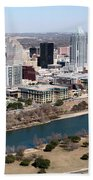 Downtown Austin Beach Towel