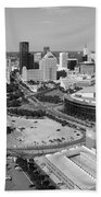 Downtown Skyline Of St. Paul Minnesota Beach Towel
