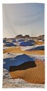 Egytians White Desert Beach Towel