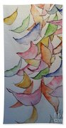 Falling Into Place Beach Towel by Sherry Harradence