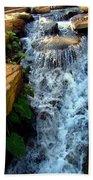Finlay Park Waterfall 2 Beach Towel