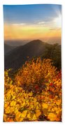 Golden Hour Beach Towel by Debra and Dave Vanderlaan