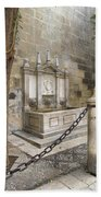 Granada Cathedral Doors And Other Details Beach Towel