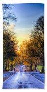 Greenwich Park London Beach Towel