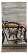 Harley-davidson Board Track Racer Beach Towel