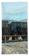 Harmony Borax Works Death Valley National Park Beach Towel