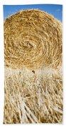 Hay Bales Beach Towel