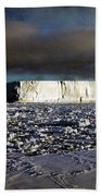 Iceberg In The Ross Sea Antarctica Beach Towel