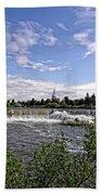 Idaho Falls Temple Beach Towel