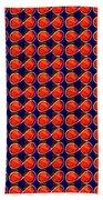 Infinity Infinite Symbol Elegant Art And Patterns Beach Towel by Navin Joshi