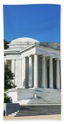 Jefferson Memorial Beach Towel