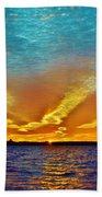 3 Layer Sunset Beach Towel