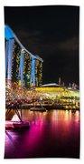 Marina  Bay Sands - Singapore Beach Towel