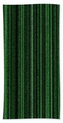 Matrix Green Beach Towel