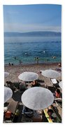 Mikro Kamini Beach Beach Towel