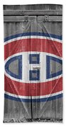 Montreal Canadiens Beach Sheet