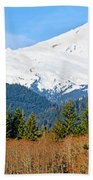 Mount Baker Beach Towel