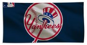 New York Yankees Uniform Beach Towel