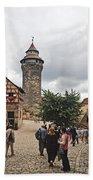 Nurnberg Germany Castle Beach Towel