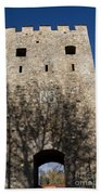 Old Sigulda Castle Ruins Beach Towel
