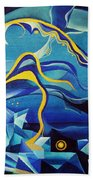 Orpheus And Eurydike Beach Towel