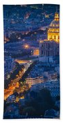 Paris Overhead Beach Towel