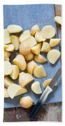 Potatoes Beach Towel