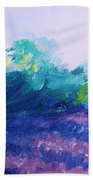 Provence  Lavender Field Beach Towel