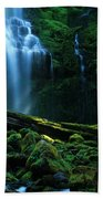 Proxy Falls Oregon Beach Towel