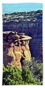 Rim Rock Colorado Beach Towel
