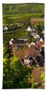 Riquewihr Alsace Beach Towel by Brian Jannsen