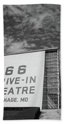 Route 66 Drive-in Theatre Beach Towel