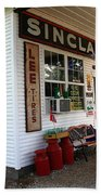 Route 66 Filling Station Beach Towel