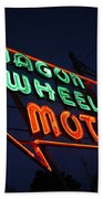 Route 66 - Wagon Wheel Motel Beach Sheet